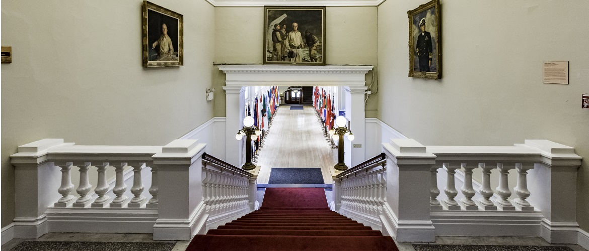 Pringle Hall at Naval War College