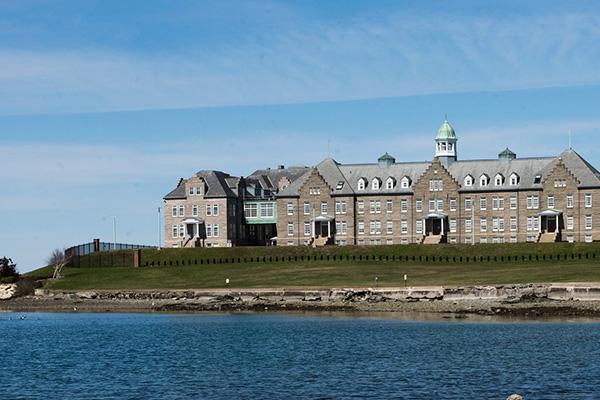 U.S. Naval War College's Luce Hall.