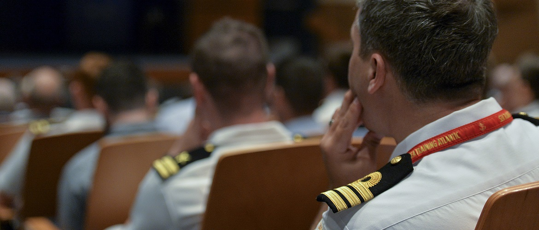 International students in class Naval War College