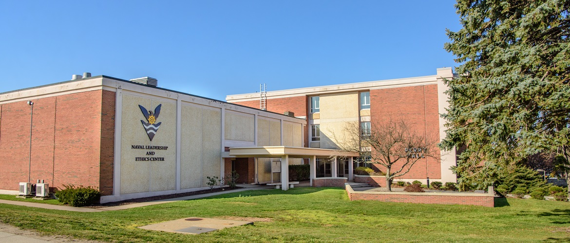 Naval Leadership and Ethics building