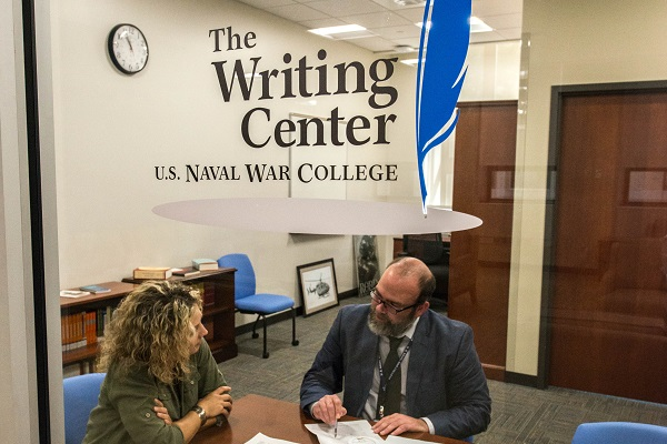 The Writing Center found within Learning Commons
